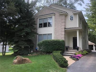 Northville Single Family Home For Sale: 19675 Clement Road