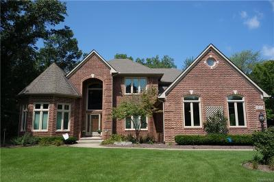 Commerce Twp Single Family Home For Sale: 1860 Cedar Bend Drive