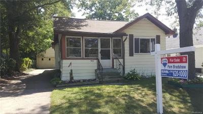 Auburn Hills Single Family Home For Sale: 3154 Bessie Street