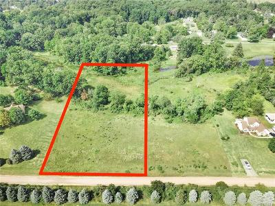 Fenton Residential Lots & Land For Sale: 0050 Iris Lane