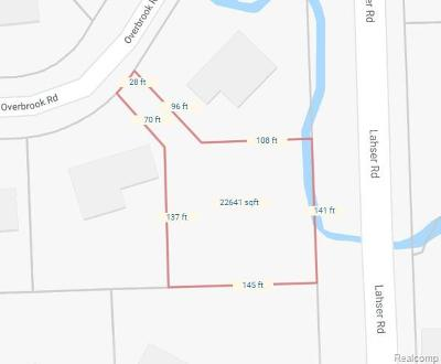 Bloomfield Twp Residential Lots & Land For Sale: Overbrook Vl Drive