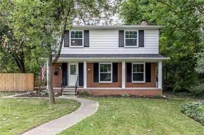 Royal Oak Single Family Home For Sale: 3320 Vinsetta Boulevard