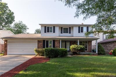 Single Family Home For Sale: 45458 Fieldstone Drive