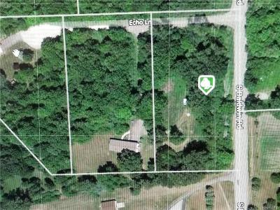 Brandon Twp Residential Lots & Land For Sale: 5969 Echo Lane
