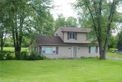 Van Buren, Van Buren Twp Single Family Home For Sale: 41743 Van Born Road