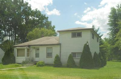 Brownstown Twp, Flat Rock, Riverview, Rockwood Single Family Home For Sale: 24563 West Road
