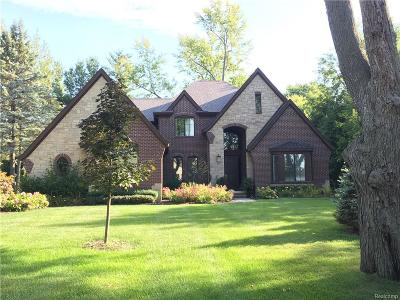 Bloomfield Twp Single Family Home For Sale: 4059 Lincoln Road