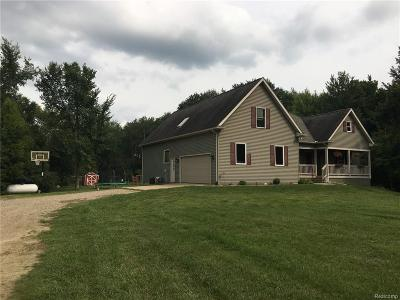 Single Family Home For Sale: 1349 S S.wilder Road