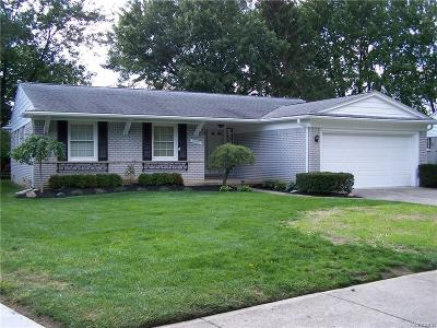 Salem, Salem Twp, Plymouth, Plymouth Twp Single Family Home For Sale: 15151 Amber Court