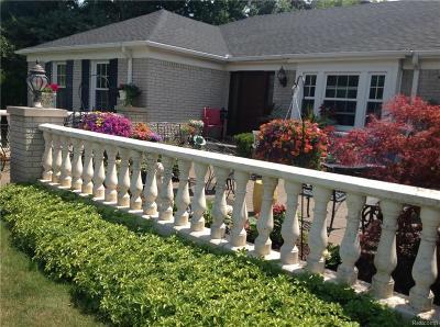 Farmington Hills Single Family Home For Sale: 33641 Brittany