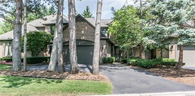 Bloomfield Twp Condo/Townhouse For Sale: 843 Adams Court
