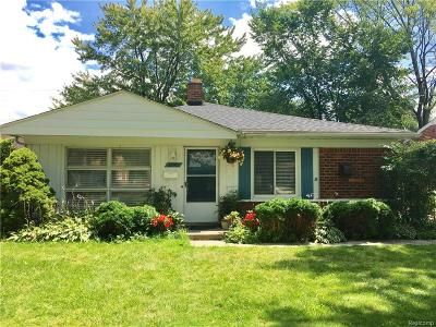 Southfield Single Family Home For Sale: 28142 Brentwood Street