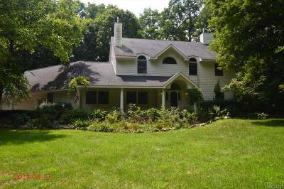 Milford Twp Single Family Home For Sale: 1640 S Hickory Ridge Trail