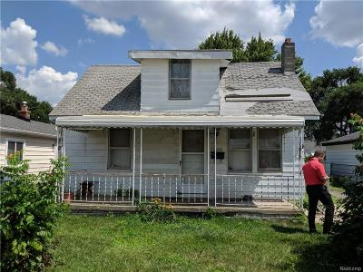 Madison Heights Single Family Home Pending: 30744 Palmer Boulevard