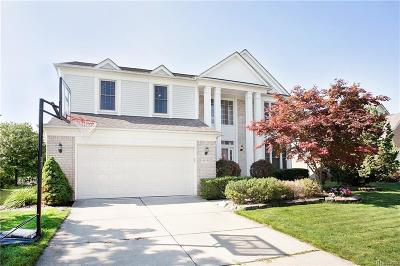 Canton, Canton Twp Single Family Home For Sale: 44580 Fenwick Drive