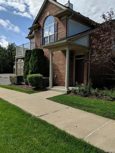 Oakland Twp Condo/Townhouse For Sale: 3376 Tremonte Circle N