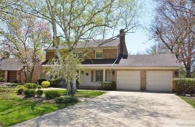 Grosse Ile Twp MI Single Family Home For Sale: $349,000