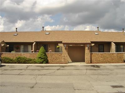South Lyon MI Condo/Townhouse For Sale: $119,000