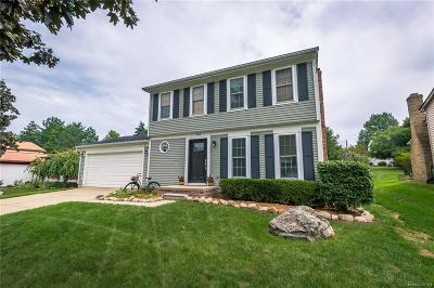 Rochester Hills Single Family Home For Sale: 1713 Morningside Lane