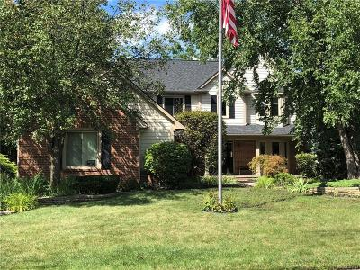 Canton, Canton Twp Single Family Home For Sale: 41634 Singh Drive