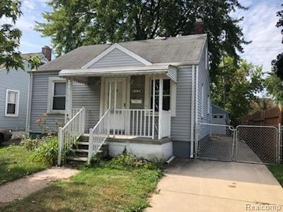 Lincoln Park Single Family Home For Sale: 957 White Avenue