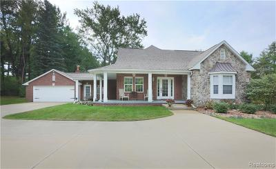 Lake Orion, Orion Twp, Orion Single Family Home For Sale: 3261 Indianwood Road
