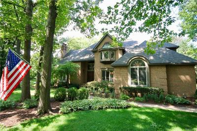 Orchard Lake Single Family Home For Sale: 5975 Seville Circle