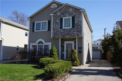 Berkley Single Family Home For Sale: 1371 West Boulevard