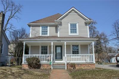Rochester MI Single Family Home For Sale: $398,000