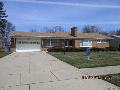 Dearborn Heights Single Family Home For Sale: 27340 Doxtator Street