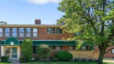 Royal Oak MI Condo/Townhouse For Sale: $134,900