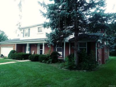 Van Buren, Van Buren Twp Single Family Home For Sale: 45669 Harmony Lane