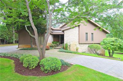 West Bloomfield Twp Single Family Home For Sale: 2082 Shore Hill Court
