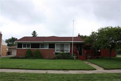 Westland Single Family Home For Sale: 34753 Somerset Street