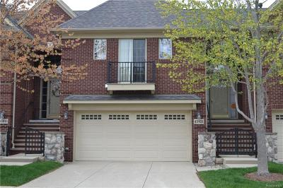 Macomb Twp Condo/Townhouse For Sale: 45921 Dutton Drive #81