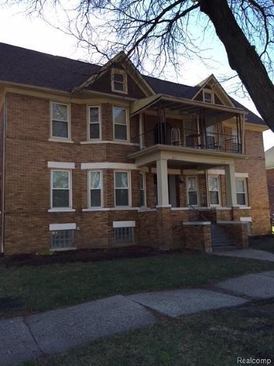 Detroit Multi Family Home For Sale: 827 Blaine Street