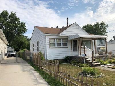Warren Single Family Home For Sale: 8507 Jewett