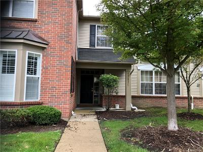 Canton Twp Condo/Townhouse For Sale: 47635 Ormskirk Drive