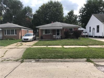 Dearborn Heights Single Family Home For Sale: 26173 Eton Avenue