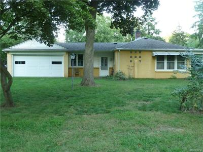 Westland MI Single Family Home For Sale: $99,900
