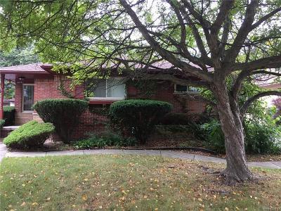Oak Park Single Family Home For Sale: 24251 Jerome Street