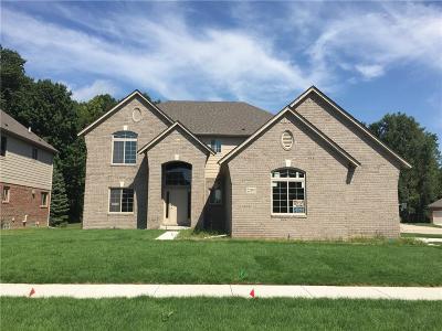Macomb Twp Single Family Home For Sale: 22191 Sandalwood Drive