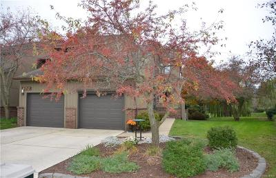 Grosse Ile Twp MI Condo/Townhouse For Sale: $207,500