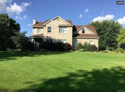 Lyon Twp Single Family Home For Sale: 27424 Pond Drive