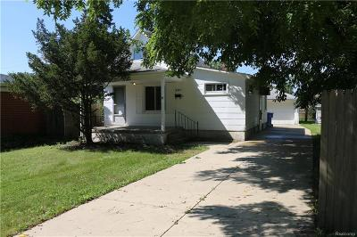Dearborn Heights Single Family Home For Sale: 6401 Heyden Street