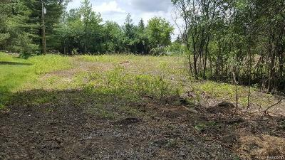 West Bloomfield Twp MI Residential Lots & Land For Sale: $159,000