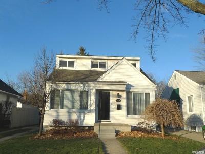 Birmingham Single Family Home For Sale: 1171 Cole Street