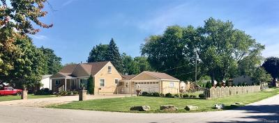 Redford Twp Single Family Home For Sale: 15816 Lenore