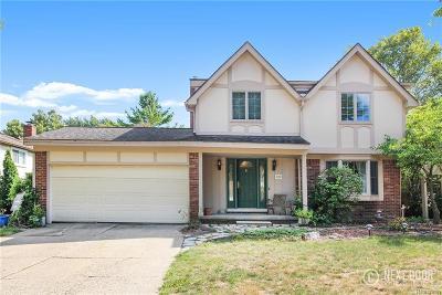 Troy Single Family Home For Sale: 2196 Niagara Drive