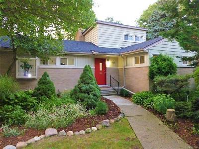 Huntington Woods Single Family Home For Sale: 13128 Wales Avenue